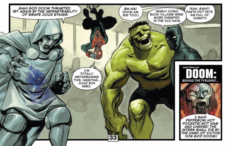 One of Marvel's Best Writers Says Goodbye With a Hilarious Doctor Doom Story