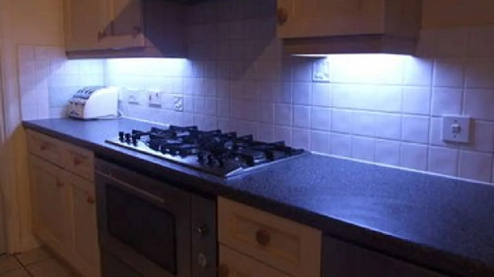 DIY Under-Cabinet LED Lighting With Fade Effects