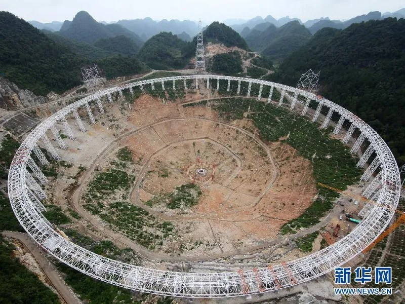 China is Building an Absolutely Massive Radio Telescope