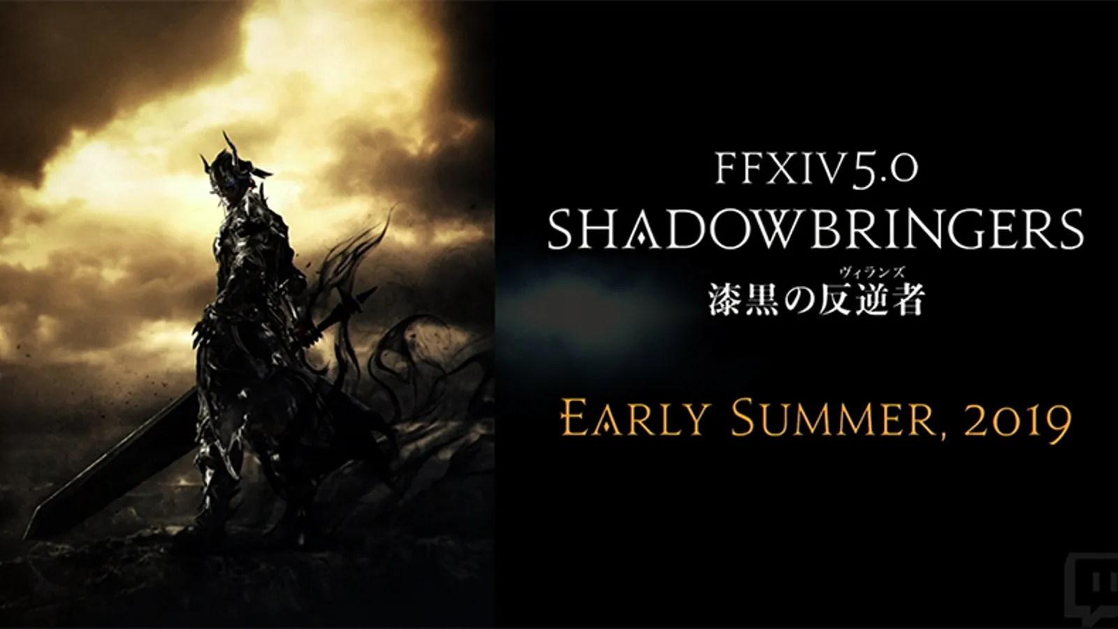 Final Fantasy XIVs Next Expansion Is Shadowbringers