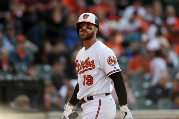 The illustration of the article titled Chris Davis is really discouraging me