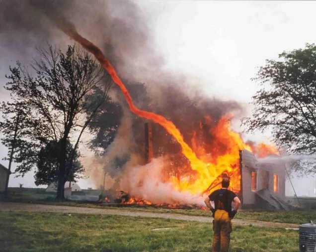 Terrifying Images Of Whirling Firenadoes From All Over The World