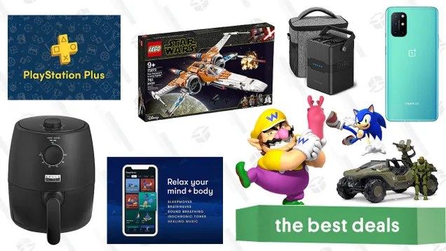 u3fscvhbzzccouopo2qo Thursday's Best Deals: RAVPower Portable Power Station, VPN Unlimited + PlayStation Plus, LEGO Star Wars X-Wing, Bella Air Fryer, Ella Paradis Spring Cleaning Sale, and More | Gizmodo