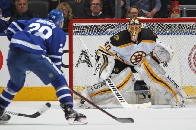 Illustration for article titled Tuukka Rask Ruined The Maple Leafs' Best And Maybe Last Chance