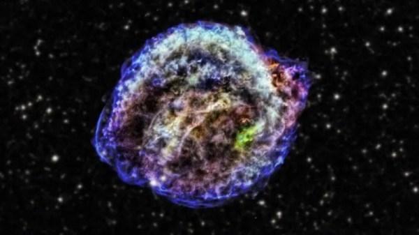 Here's the supernova Johannes Kepler studied 400 years ago