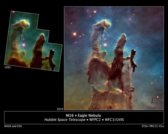 La foto más bonita del espacio es aún más espectacular 20 años después