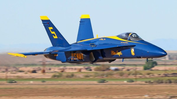The Blue Angel F/A-18 Hornets Are Literally Falling Apart ...