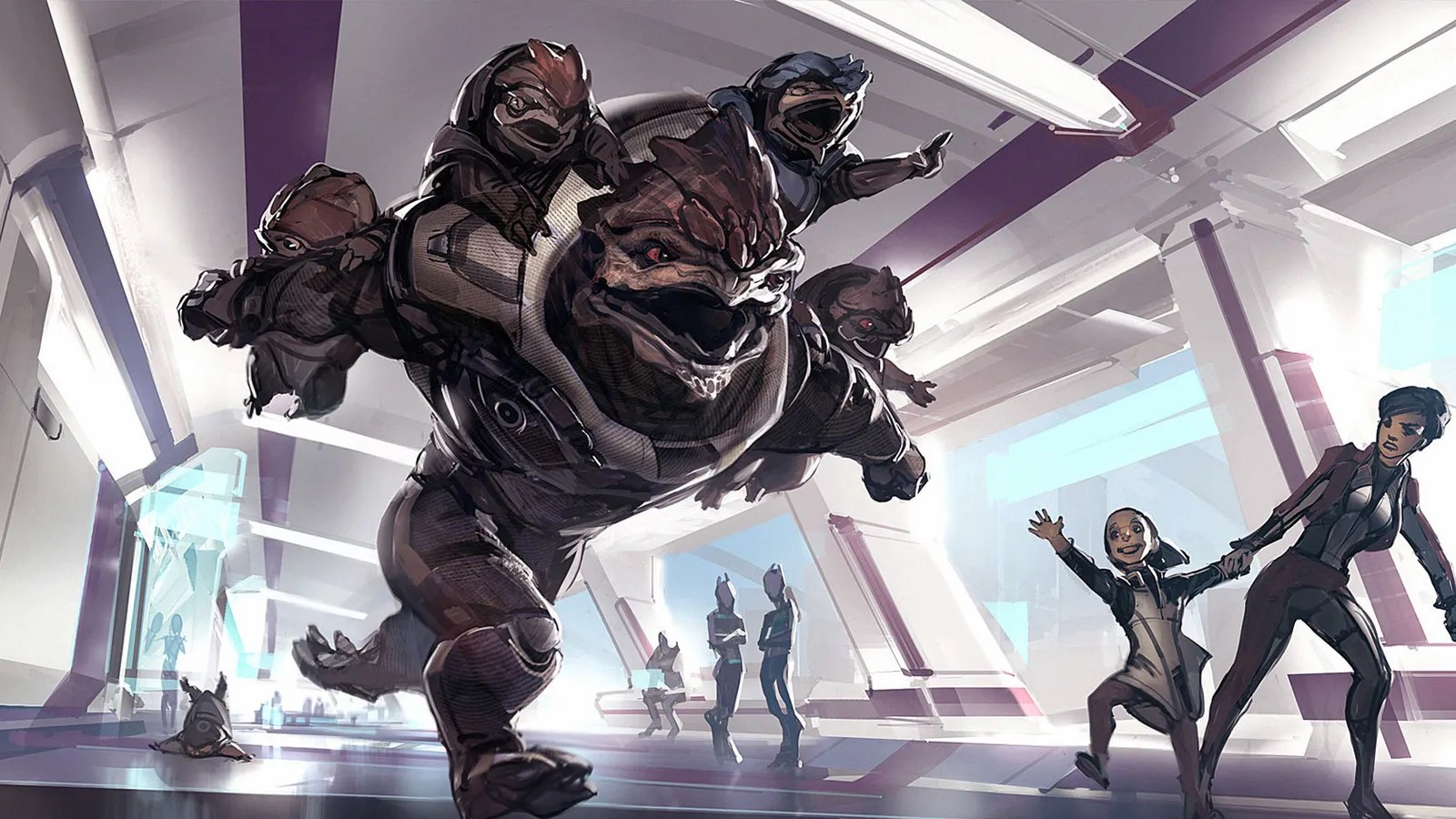 If The Mass Effect Games Had Kids