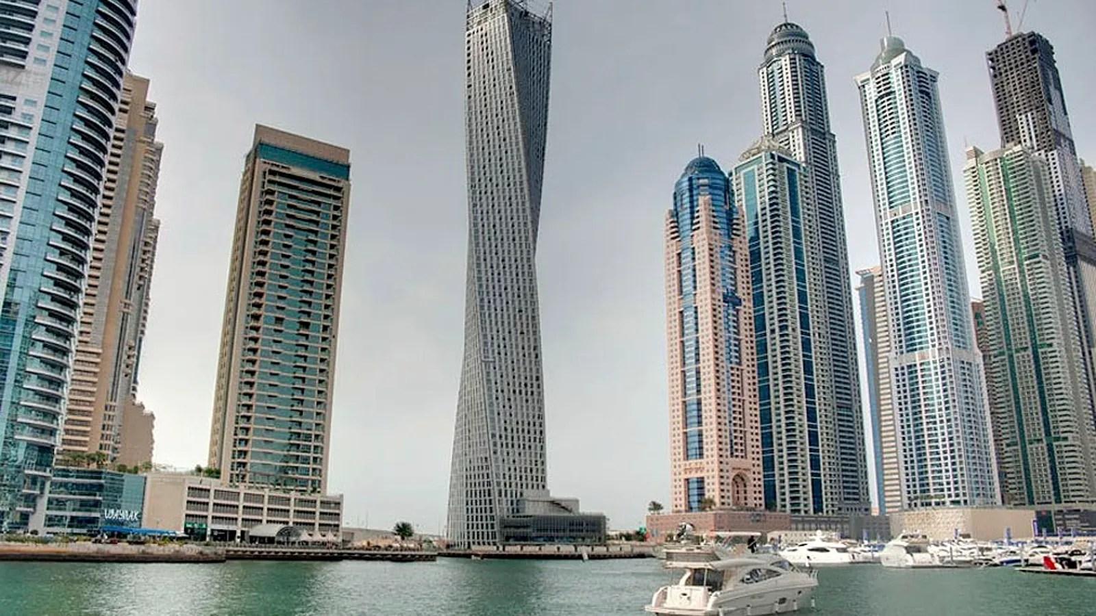 Dubai Estrena La Torre En Espiral M 225 S Alta Del Mundo