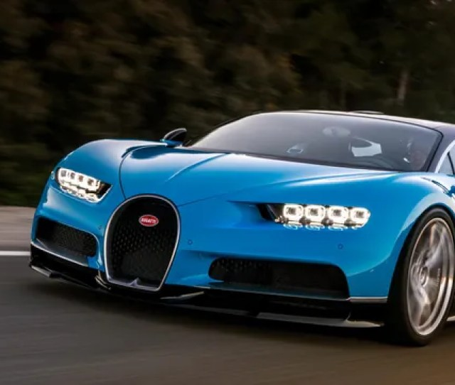 Like Its Predecessor The Bugatti Veyron The New Bugatti Chiron Is A True Engineering Marvel Its A  Horsepower Monster Capable Of Doing  Mph A