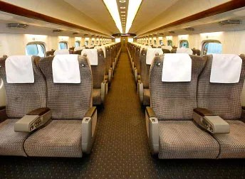Japans Type N700 Bullet Train Almost Half As Fast As An Airplane