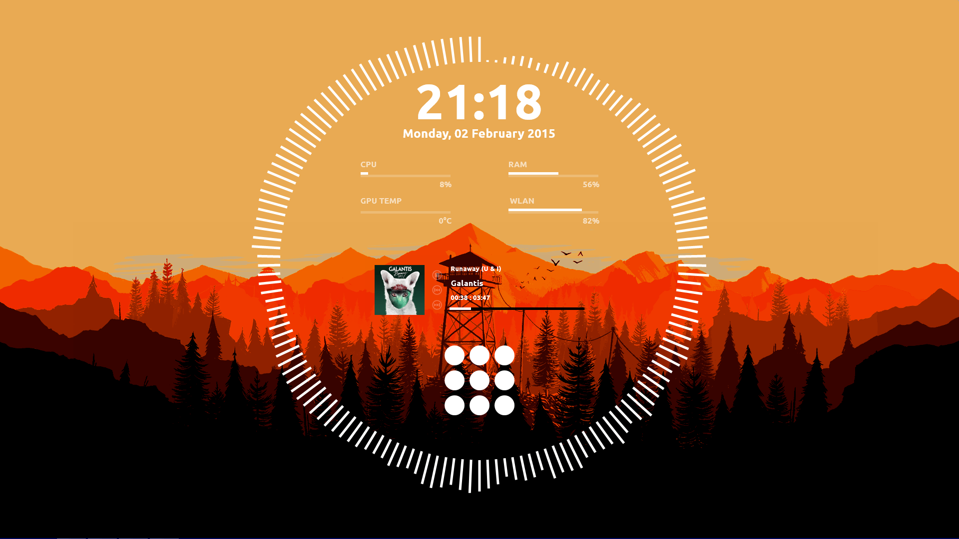 The Firewatch Desktop