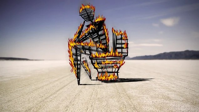 "Meet the ""Shit Queen of Burning Man,"" Commander of 1,400 Porta-Potties"