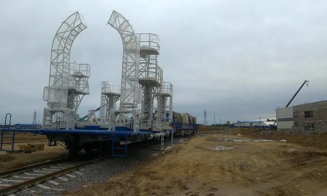 Check Out Russia's New Spaceport Being Built