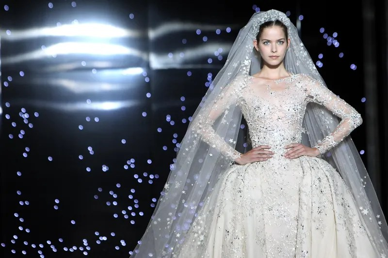 Batshit Dramatic Wedding Gowns From Paris Haute Couture Week