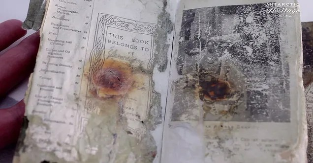Hallan un diario de la expedición Terra Nova perdido hace 100 años