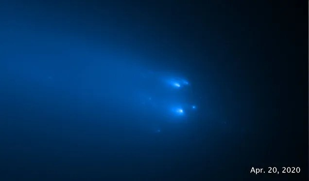 7e7b36d30f6fd61df75ce908b91d1edc Physicists Get a Unique View of a Destroyed Comet | Gizmodo