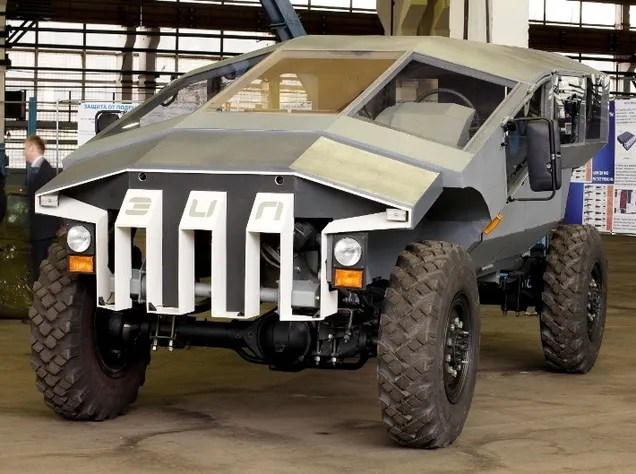 This Futuristic Armored Assault Wagon Is Russia's Answer To The Humvee