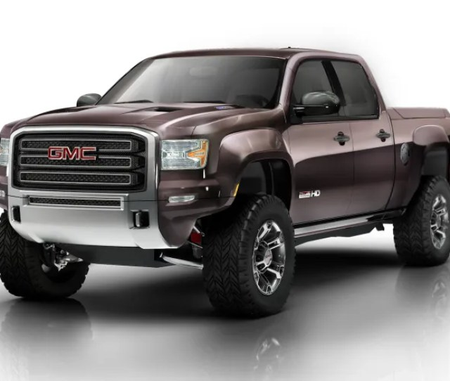 The Gmc Sierra All Terrain Hd Concepts A Badass No Doubt Its Big Its Macho Its American And Unlike The Ford Raptor Or Ram Power Wagon