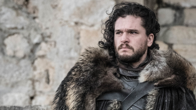 The face of a man who knows nothing, or knows that he just read the script for the Game of Thrones finale, who can say.