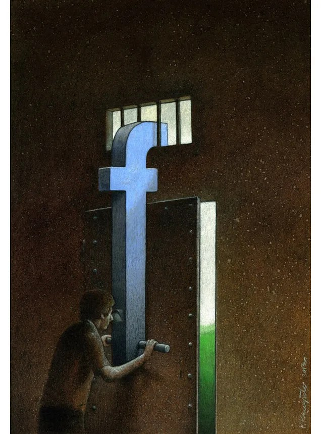 Cartoons About Our Relationship To Facebook Are Clever But Depressing