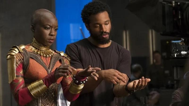 Ryan Coogler and Danai Gurira Black Panther
