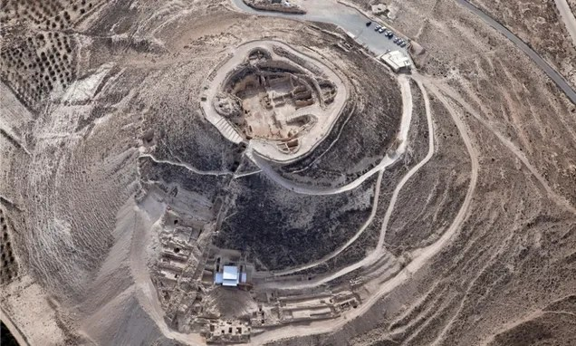 Archaeologists Find Royal Entryway To King Herod's Hilltop Palace