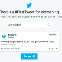 Twitter unveils 'First Tweet' tool to celebrate it's 8th birthday!