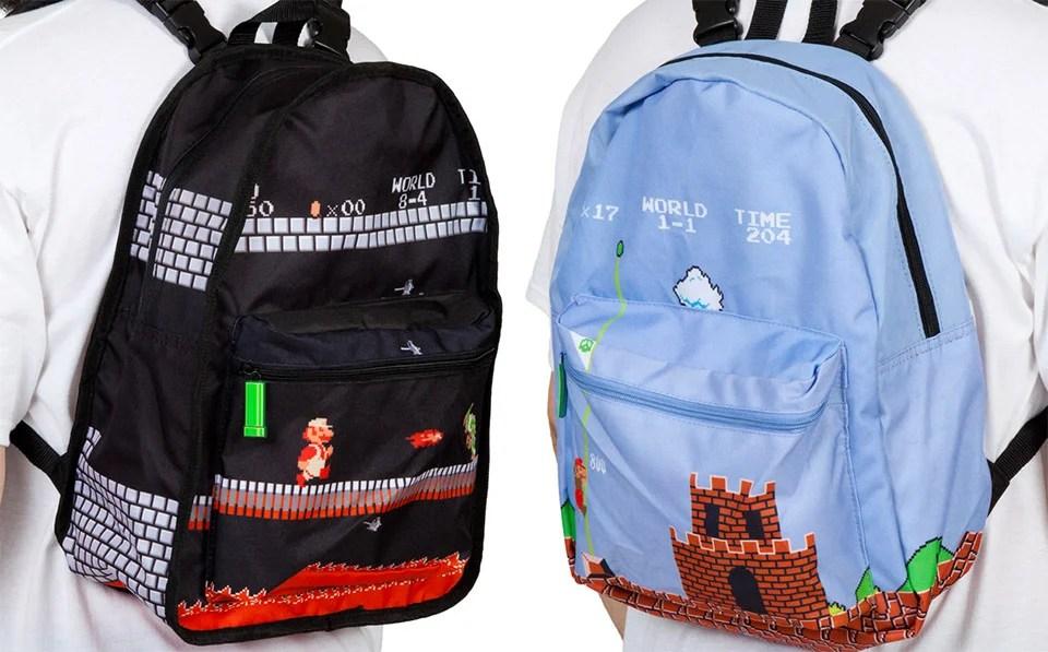 One Backpack Two Super Mario Levels Kotaku Australia