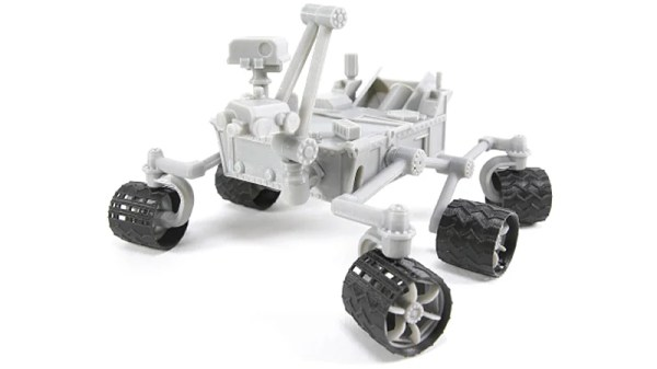 NASA Released A Free 3DPrintable Model Of The Curiosity