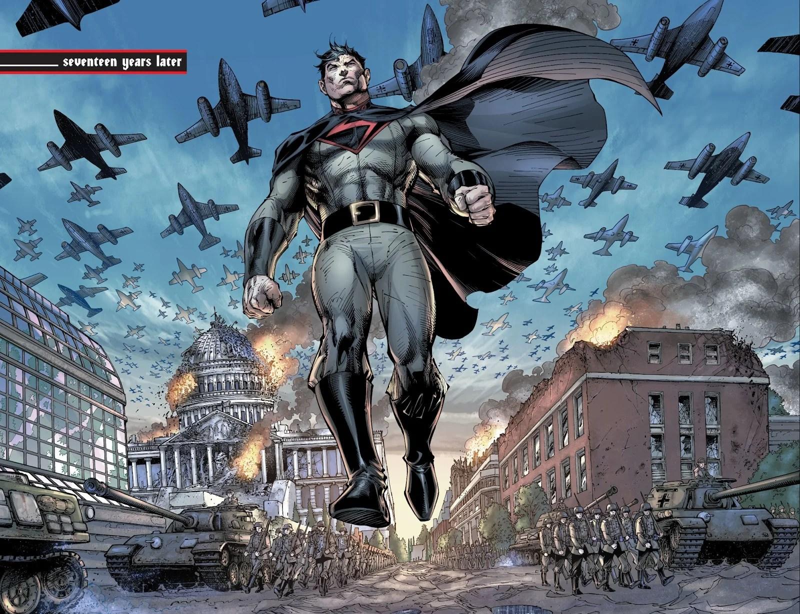 The Problem With A Nazi Superman Kotaku Australia