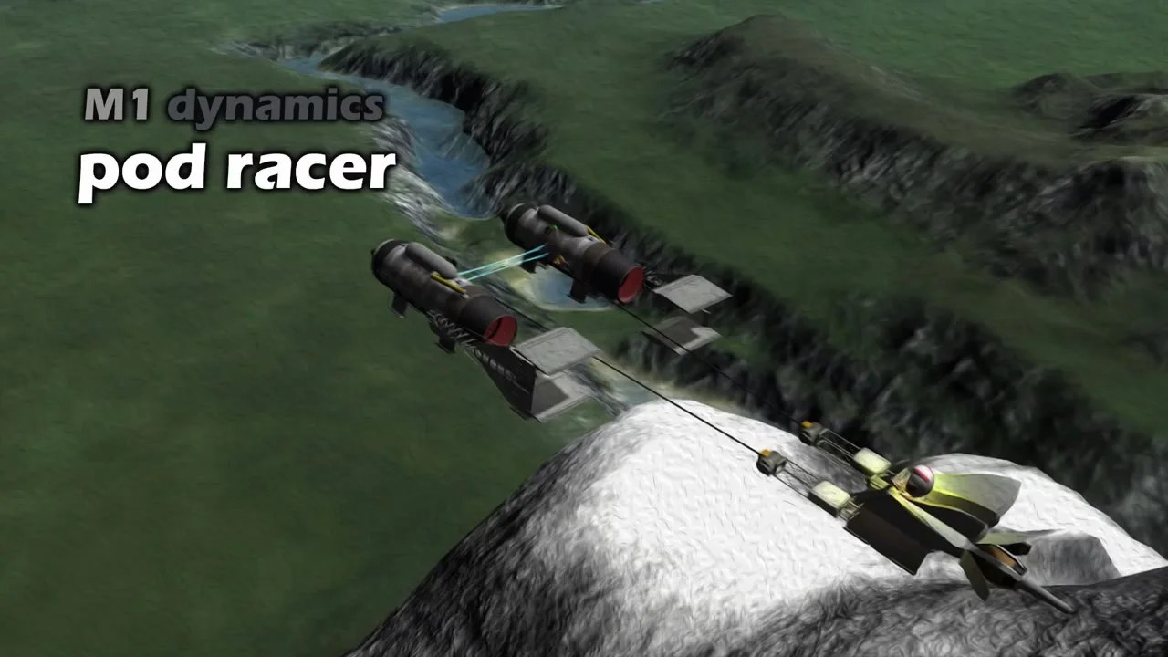 Star Wars Podracer From Kerbal Space Program Can Actually