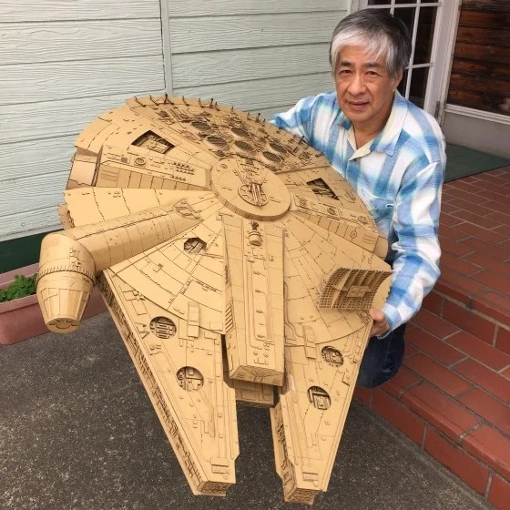Image result for cardboard art