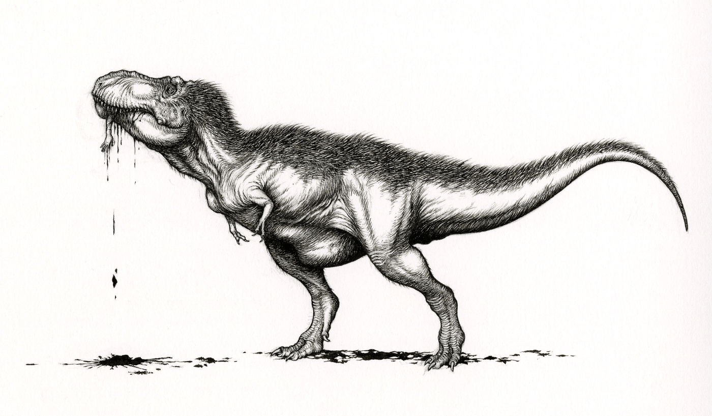 For Dino Geeks The Twitter Sciart Storm Was Undeniably