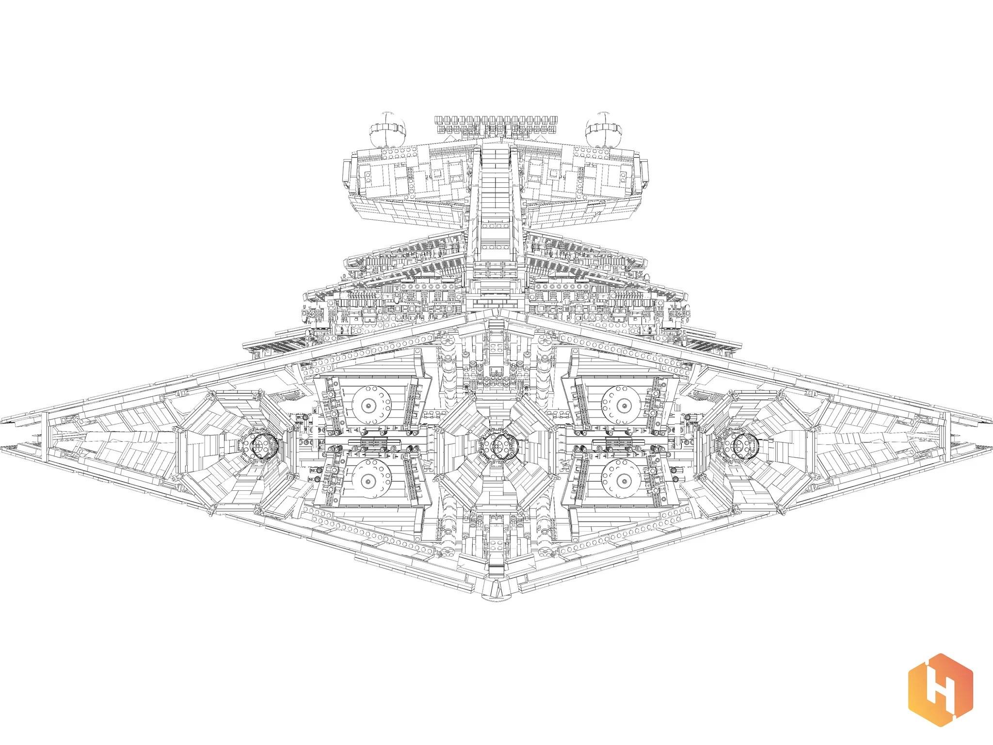 Star Wars Star Destroyer Schematics Pictures To Pin On