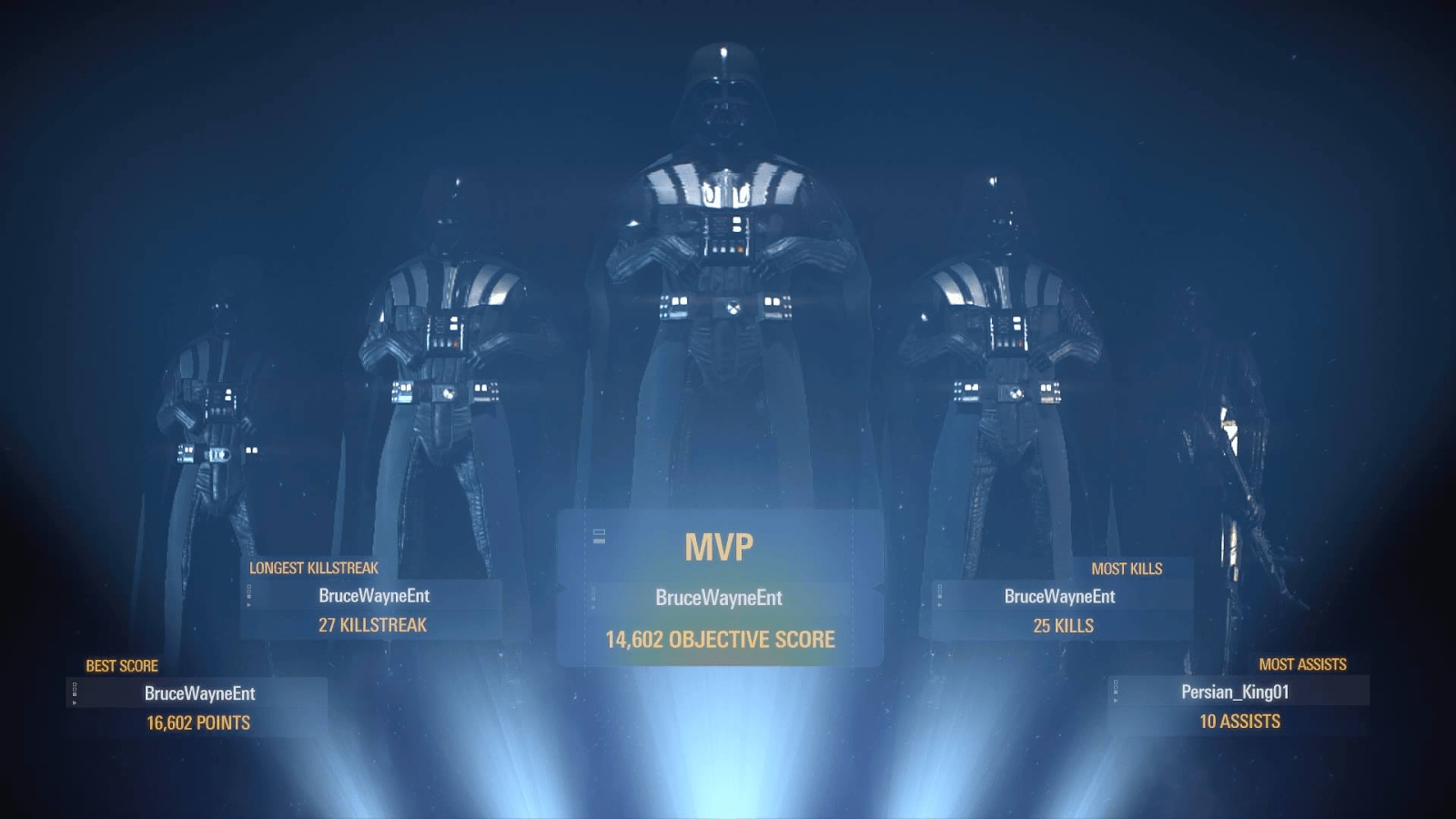 Star Wars Battlefront 2s Post Game Stats Are Busted