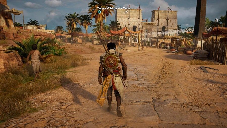 Video Game Mini Maps Might Finally Be Going Away   Kotaku Australia Every single Assassin s Creed game has had a mini map until now  It s  always been there  sitting in the corner of the screen  In Origins  it s  gone