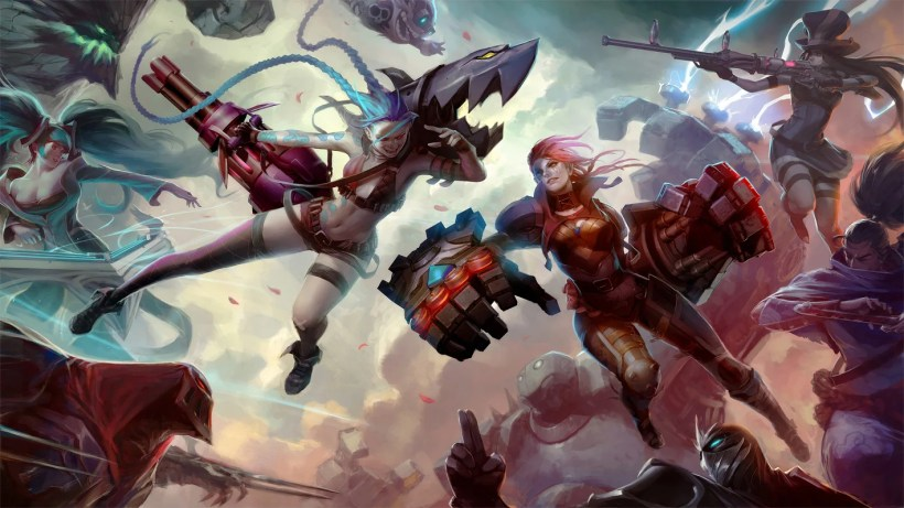 Image result for League of Legends characters