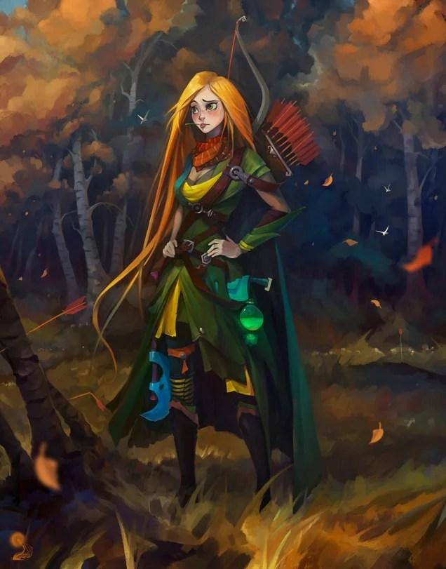 Dota Heroes Illustrated In Disney Style Kotaku Australia