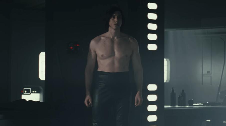 Kylo Ren Without Shirt