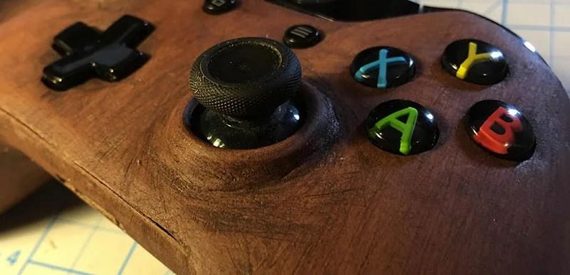 A 3D Printed Xbox One Controller Made Of Wood Kotaku Australia