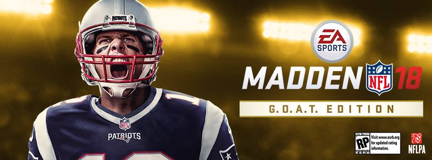 Tom Brady Is On Madden 18s Cover And Life Is Hell