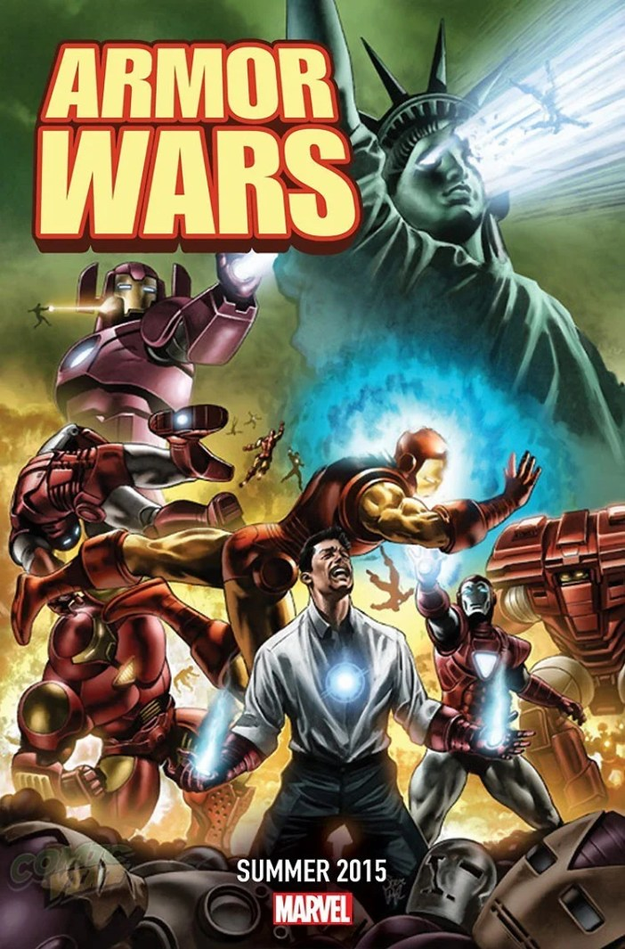 """Armor Wars"" - Another Galactus sized event from Marvel!"