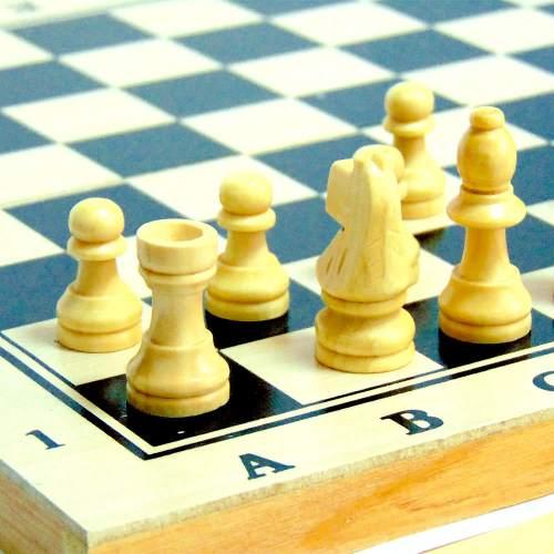 Шахматы 3 в 1 средние