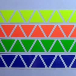 Наклейки на Пираминкс