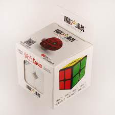 Кубик Рубика 2x2 Mo Fang Ge Cavs (цветной)