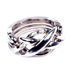 Головоломка литая Кольцо аналог Cast Puzzle Ring