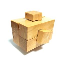 Деревянная головоломка Крест Асимметричный