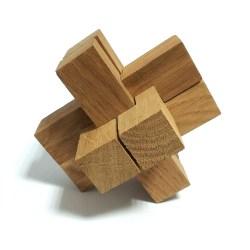 Деревянная головоломка Крест Макарова Большой