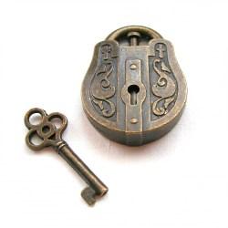 Головоломка литая Замок и ключ